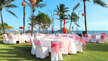 wedding reception in bali