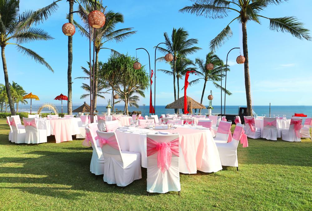 wedding reception in bali